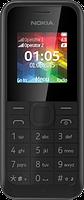Телефон NOKIA 105 Dual Sim (black)