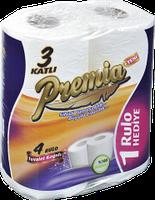 Premia туалетная бумага 4 шт