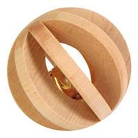 Trixie (Трикси) Игрушка для грызунов шар деревянный с колокольчиком 6см