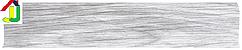 Плінтус пластиковий LinePlast L007 Ясен шимо світлий з кабель-каналом, підлоговий з м'якими краями