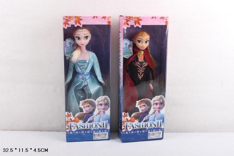 """Лялька (кукла) """"F"""" Frozen 28 см """"Крижане серце"""" 29 см 2811 2 види у кор. 32,5*4,5*11,5 см Ельза"""