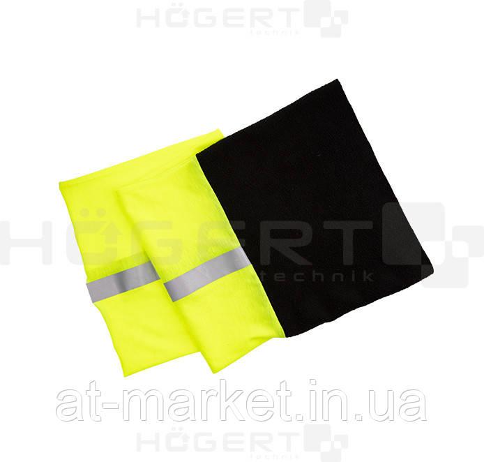 Шарф-труба (снуд) многофункциональный утепленный желтый NAHE HT5K476