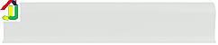 Плінтус пластиковий LinePlast L008 Сірий однотонний з кабель-каналом, підлоговий пластиковий