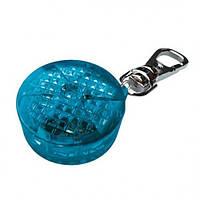 Trixie (Трикси) Брелок мигающий для собак и кошек синий, пластик 3,5см