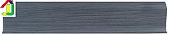 Плінтус пластиковий LinePlast L010 Клен блакитний з кабель-каналом, підлоговий з м'якими краями