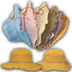ОПТ Стильная детская летняя шляпа, 52 р. (5шт/упаковка)