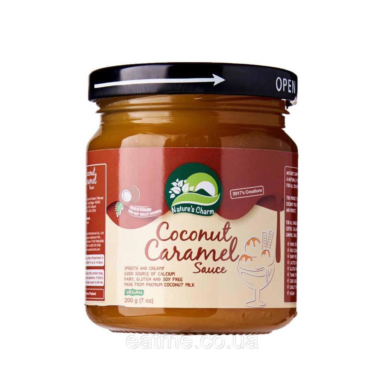 Nature's Charm Кокосовый карамельный соус
