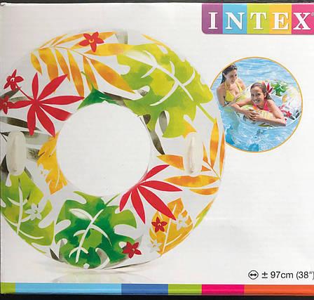 Надувной круг-тюбинг Intex 58263-3, фото 2