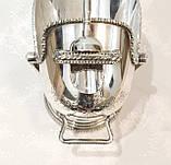 Посріблена англійська цукорниця - зольник, ківш, сріблення, Англія, вінтаж, фото 8