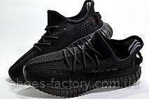 Кроссовки унисекс в стиле Adidas Yeezy Boost, Black, фото 2