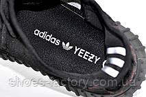 Кроссовки унисекс в стиле Adidas Yeezy Boost, Black, фото 3