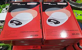 Весы кухонные с чашей до 5 кг MATARIX MX-404