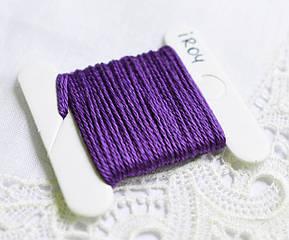 Нить Ирис хлопок, Турция, 5 м, фиолетовый