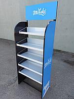 Стеллаж-стойка 5 полок, 40*70*185 см, металл