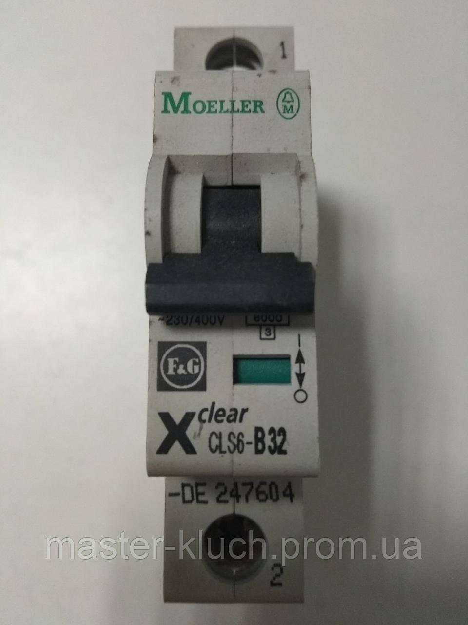 Автоматический выключатель Eaton PL-6 1P В 32A