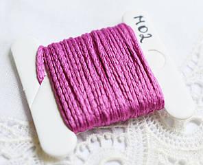 Нить плетеная, Турция, 5 м, розовая