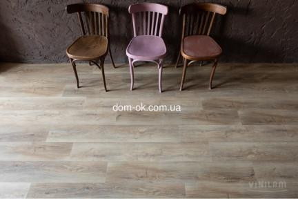Виниловое напольное покрытие VINILAM клеевая плитка 2,5мм Дуб Амберг (Rich) 15783