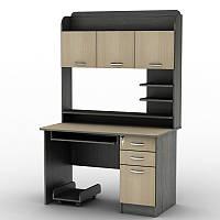 Компьютерный стол СУ-12 с полками и ящиками, фото 1