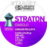 Пули пневм JSB Diabolo Straton 4,5 мм 0,535 гр. (500 шт/уп)