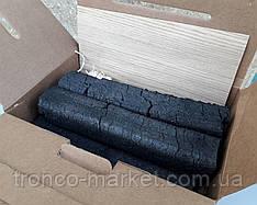 Древесно угольный брикет готовый (угли для шашлыка гриля, лучина, тырса) на 5-6 кг мяса