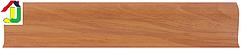Плінтус пластиковий LinePlast L018 Дусс з кабель-каналом, підлоговий з м'якими краями