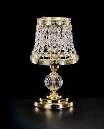 Хрустальная настольная лампа Elite Bohemia S 710/1/05, фото 2