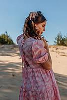 Летнее женское платье длиной до колена, фото 3