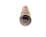Зажигалка электроимпульсная, импульсная сенсорная, золотистая USB ZGP 2, фото 6