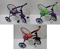 """Детский 3-х колёсный велосипед """"Неоновый гвоздик"""" 3 цвета."""