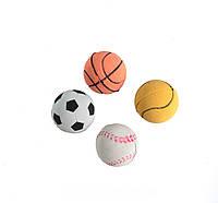 Lucky Fox (Лаки Фокс) Игрушка для кошек набор спортивные мячики