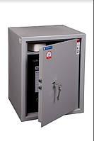 Мебельный сейф Griffon L.48.K. для хранения ценностей и документов в квартире, офисе. Вес 20кг, объем 54л