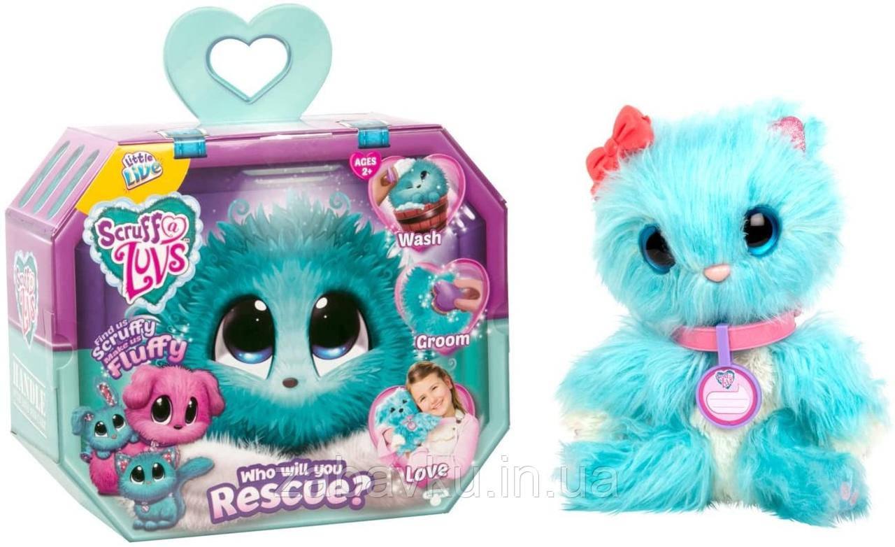 Няшка Потєряшка Little Live Scruff-a-Luvs plush mystery rescue pet оригінал