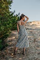 Летний женскый сарафан длиной миди, фото 3