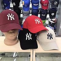 Кепка бейсболка женская мужская New York красный
