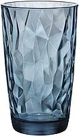"Стакан высокий синий 470 мл серия ""Diamond"", Италия"