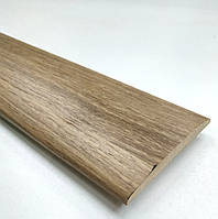 Наличник ПВХ 70х8 мм 1 комплект полукруглый, золотой дуб.