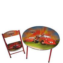 Столик со стульчиком Bambi Тачки