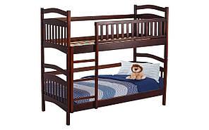 Ліжко Кіра (двоповерхова) 800*2000, горіх темний
