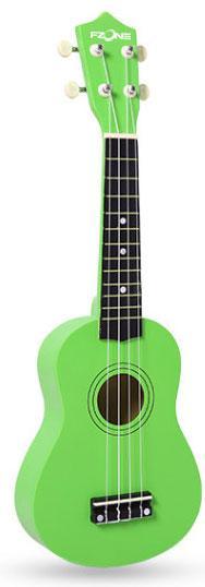 Укулеле FZONE FZU-002 Green зеленая