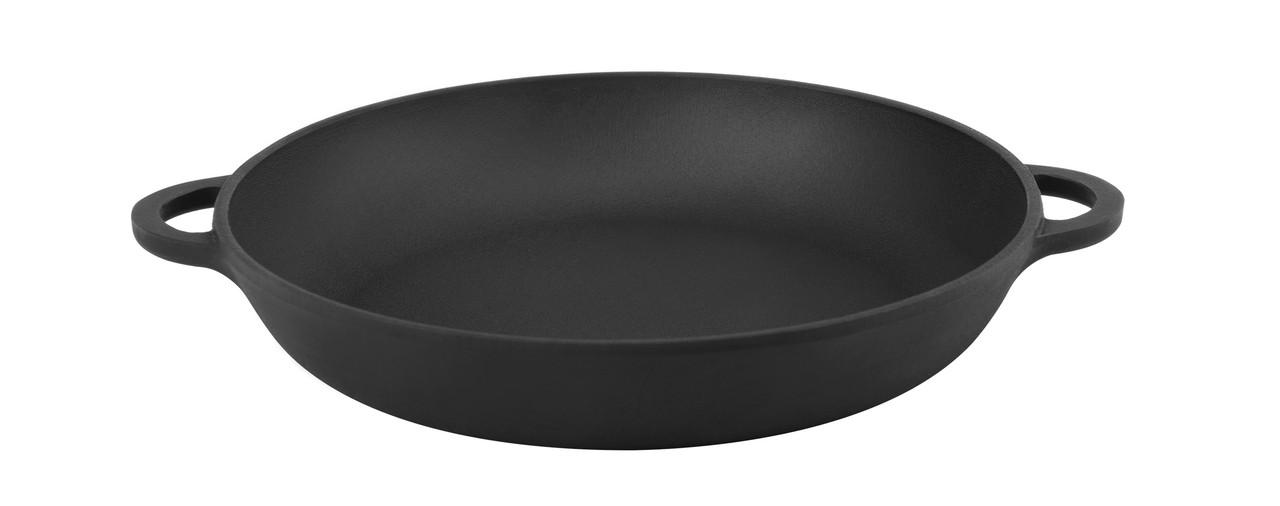 Сковорода чавунна Сітон порційна з двома литими ручками