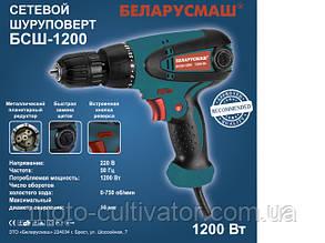 Шуруповерт сетевой Беларусмаш 1200 Вт