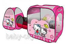 Палатка с тоннелем Hello Kitty