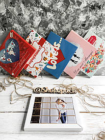 Молочный шоколад набор с фото «Шокопазл»