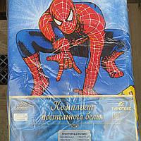 Полуторный комплект постельного белья человек-паук