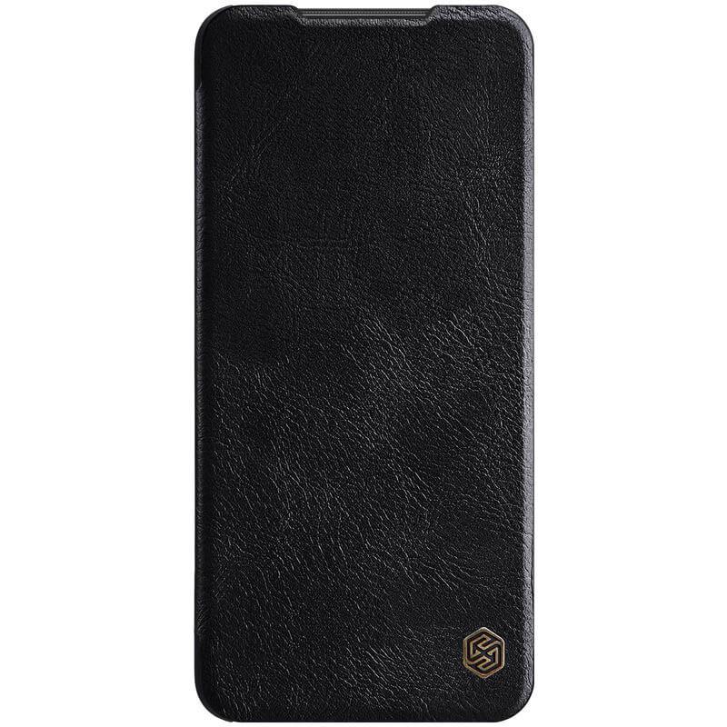 Nillkin Xiaomi Redmi Note 9 Pro/Note 9 Pro Max/Note 9S Qin leather Black case Кожаный Чехол Книжка