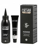 Nirvel Homme. Краситель для волос мужчин, набор камуфляжа.