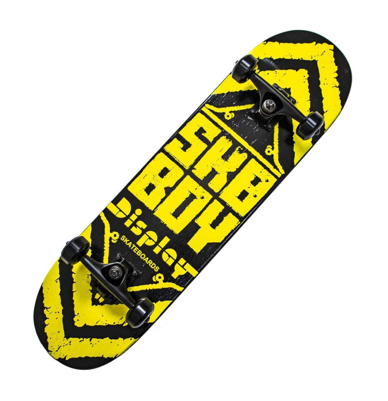 Скейтборд Sky Boy желтый