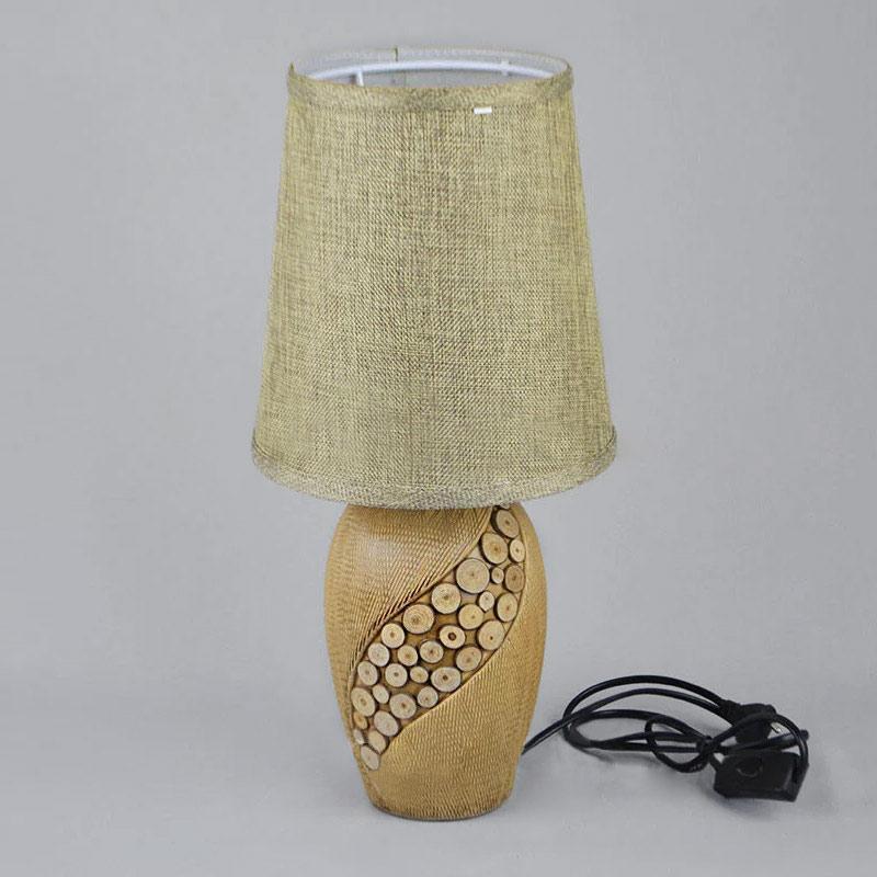 Настольная лампа NM-814999 бежевая