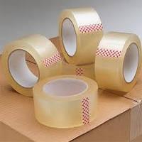Скотч упаковочный прозрачный 48 мм х 500 м (упаковка 6 шт.) / Упаковочная клейкая лента