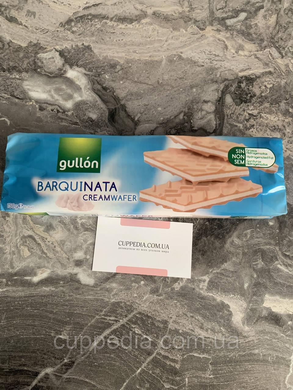 Вафлі Gullon Barquinata creamwafer 150 грм